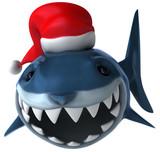 Fototapety Fun shark