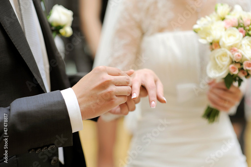 Exchanging of Wedding Rings