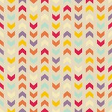 vector seamless colorful pattern background zigzag chevron poster