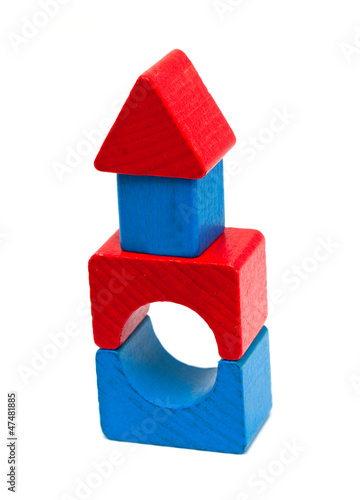 block toy house