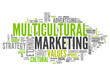 "Word Cloud ""Multicultural Marketing"""