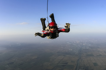 Skydiving photo.