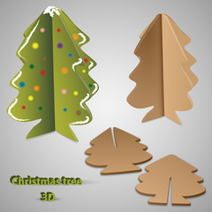 christmas tree, design, vector illustration