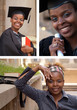 African American College Student Collage