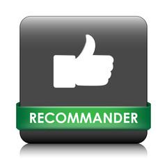 Bouton Web RECOMMANDER (partager voter avis j'aime satisfaction)