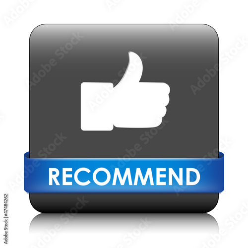 RECOMMEND Web Button (share like vote comment thumbs up)