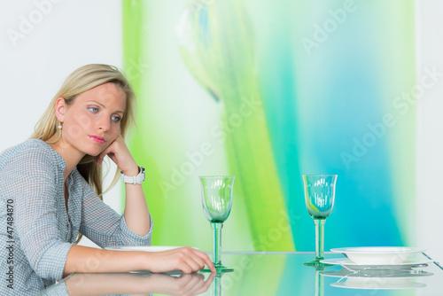 partner erscheint nicht zum essen
