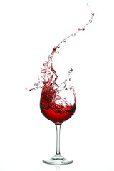 Rotwein Splash