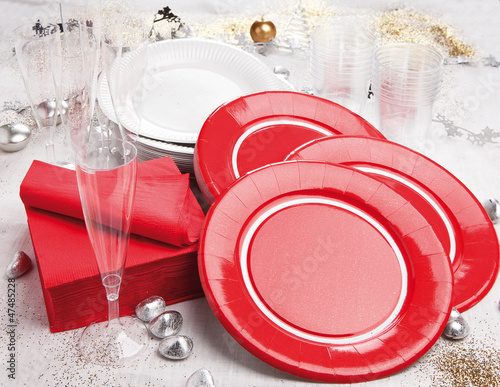 Assiettes de Noel