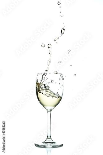 Weißwein Splash