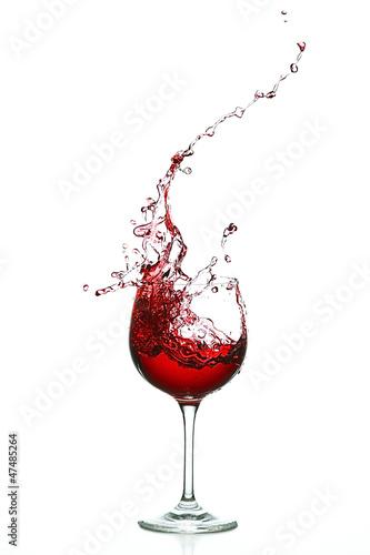 Rotwein Splash