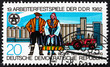 Postage stamp GDR 1982 Traditional Costumes