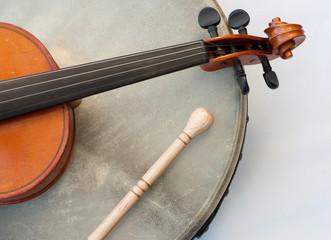 Irish folk / Geige und Bodhran 2