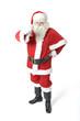 Weihnachtsmann kündigt sich an