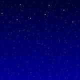 Blauer Sternenhimmel