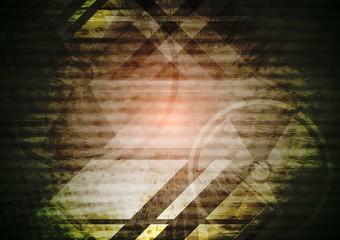 Grunge dark tech background