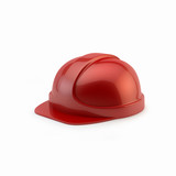 red helmet for workers