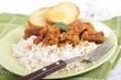 Goulash with rice