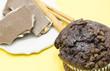 Muffin of chocolate