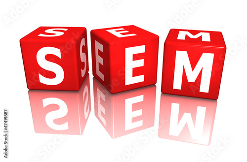 würfel cube sem - search engine marketing 3D
