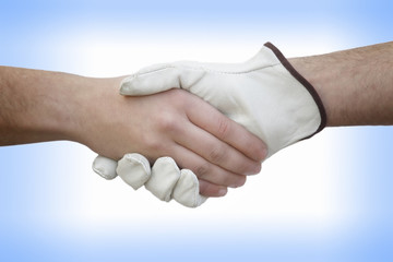 Handshake With Worker