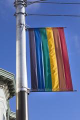 The rainbow flag in Castro