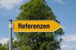 Pfeil mit Baum REFERENZEN