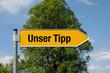 Pfeil mit Baum UNSER TIPP