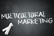 "Blackboard ""Multicultural Marketing"""