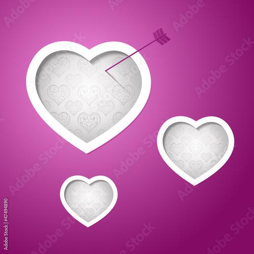 Valentines day card design background eps 10
