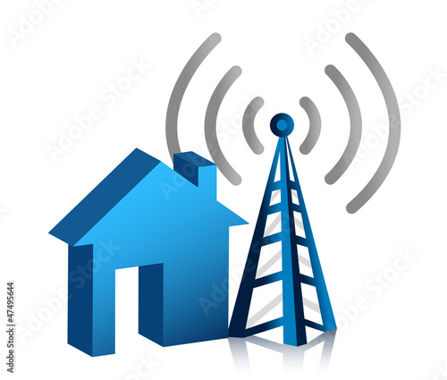 Home wireless connection