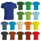 Colored Tshirt Templates