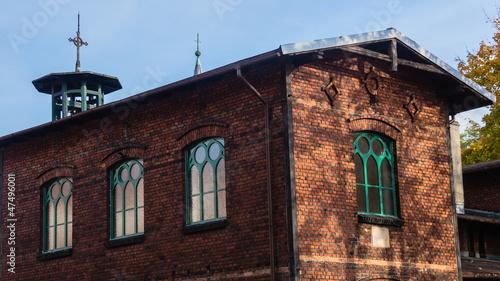 Old Lutheran parish in Bytom-Miechowice, Silesia region, Poland.