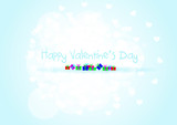 Happy Valentine's Day background vector