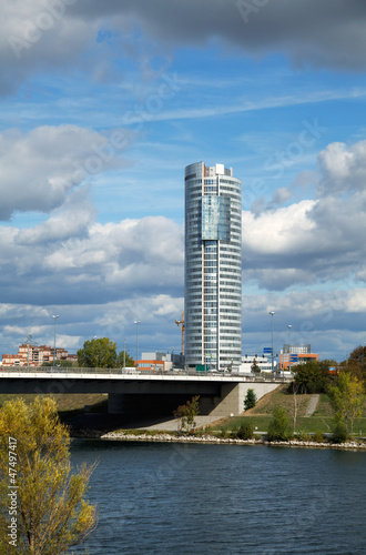 Cityscape of  Vienna downtown