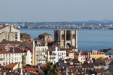 Beautiful view of Lisbon