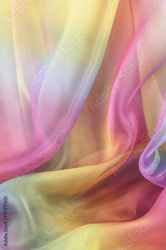 Beautiful Cascading Chiffon Background