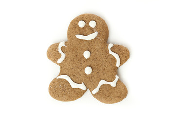 Fresh Homemade Gingerbread Men