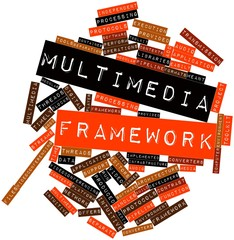 Word cloud for Multimedia framework