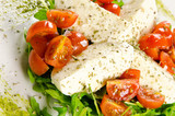 Caprese salad, traditional italian appetizer