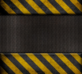 industrial metal template background