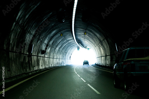 The automobile tunnel