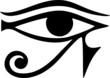 Auge des Horus / Ra gespiegelt Auge des Thot