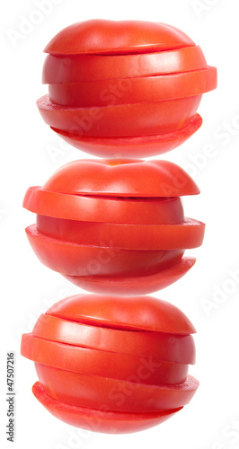 Stack of Sliced Tomato