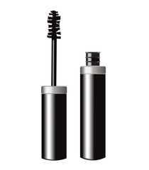 open tube of mascara
