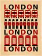 Vintage London Poster