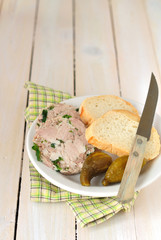 Slices of Pork and Parsley Terrine