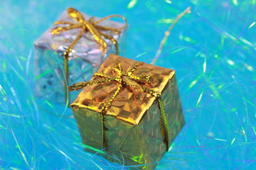 お祝いのプレゼントボックス
