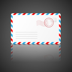 Envelope. Vector illustration.