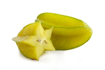 yellow,tropical fruits karambola
